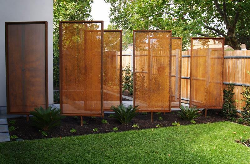 Zahradn z st ny dne n bydlen cz for Biombo exterior para jardin