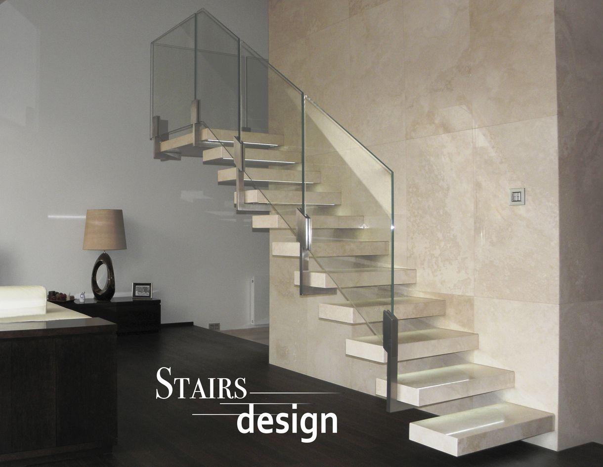 kamenne - konzolove schodiste